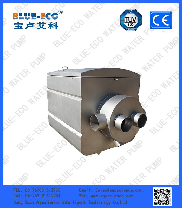316 l stainless steel of aquaculture drum filter for fish farm