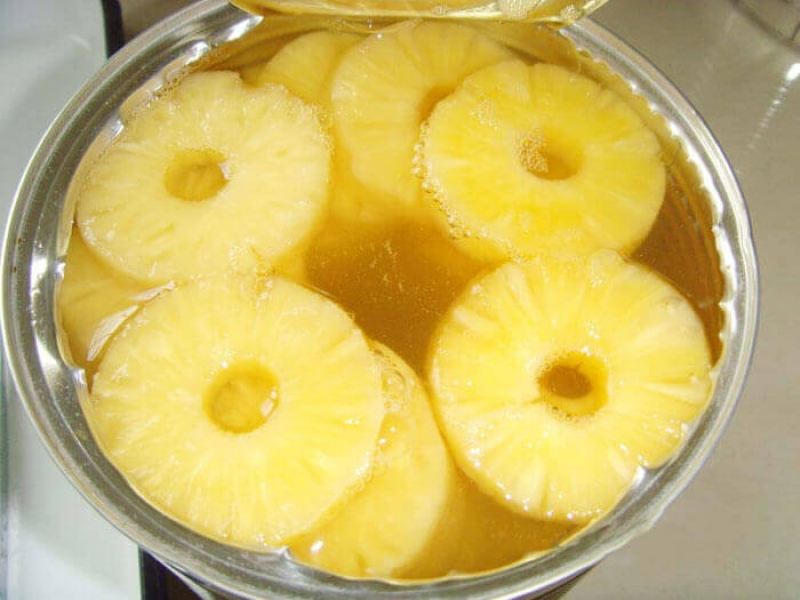 Pineapple Slice Canned