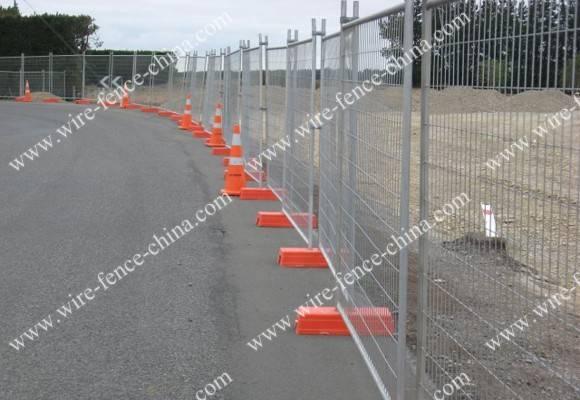 Hot sale galvanized Tempoary fence