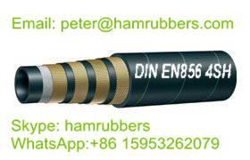 DIN EN856 4SH Wire Spiral Hydraulic Hose