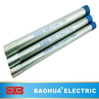 Galvanized steel BS4568 conduit