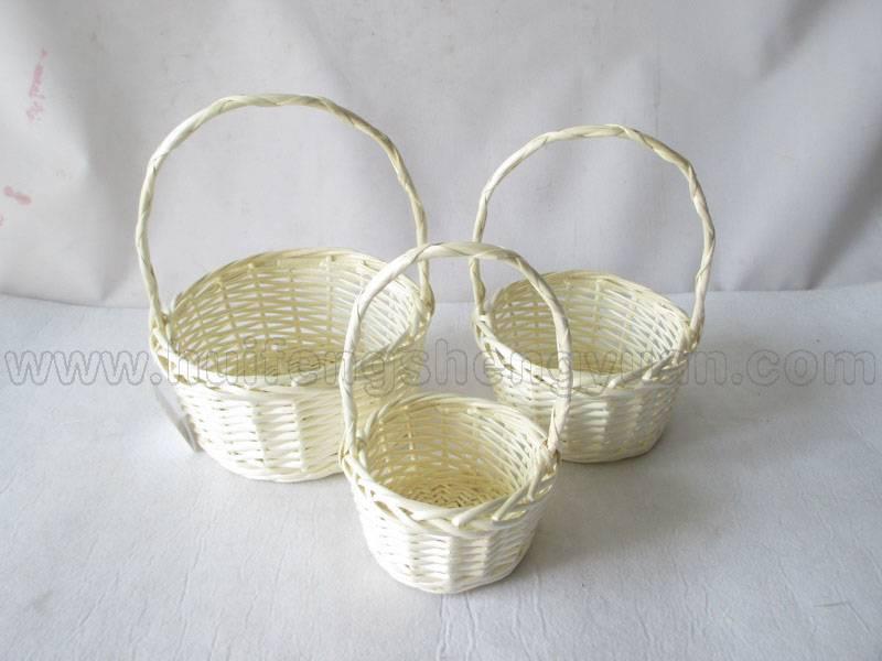 carry willow fruit storage basket