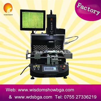 User-friendly WDS-650 auto hot air and infrared macbook/smart mobile phone reball machine