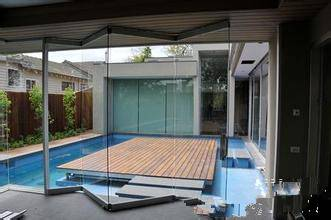 No border aluminum sliding doors, glass folding doors, doors for your home to maximize space utiliza