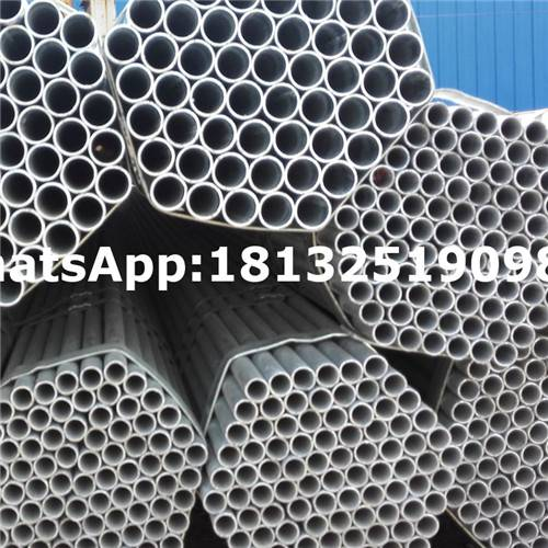 Cold Rolled Technique and Galvanized Surface Treatment steel pipes