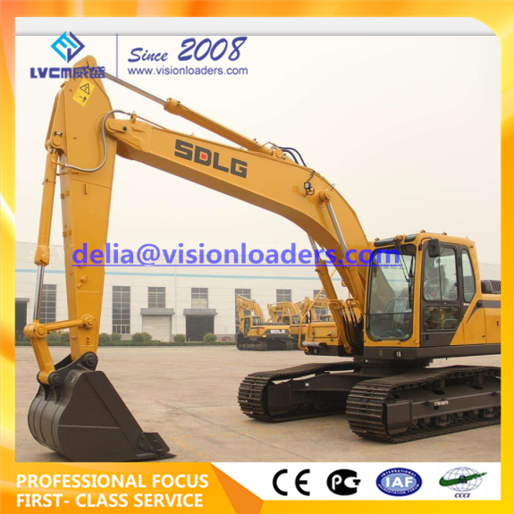 SDLG LG6235E Hydraulic Excavator E6235F Crawler for sale
