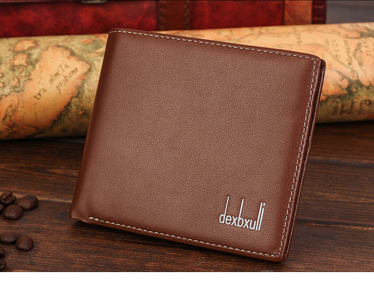 Men's Synthetic Leather Wallet Money Pockets Credit/ID Cards Holder Purse 4 Colors SV000195