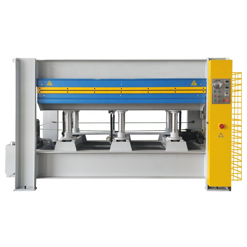 100T Single Layer Hydraulic Veneer Plywood Hot Press Machine