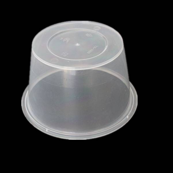Round Shape PP Food Container 1500ml