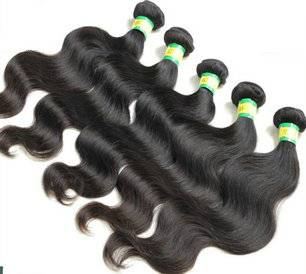 human hair extensions body wave hair weft 8-30inch