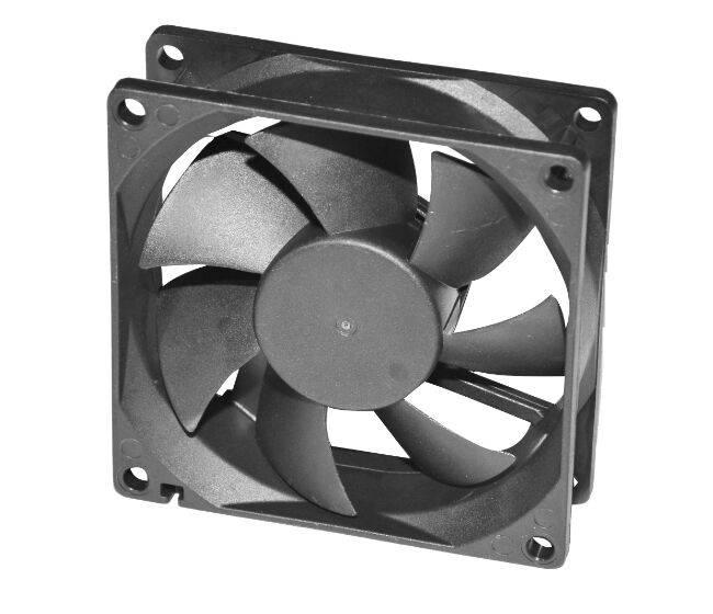 80*80*25mm Customized DC Axial Fan FDB8025-F 12/24/48V Two ball  Bearing Cooling Fan