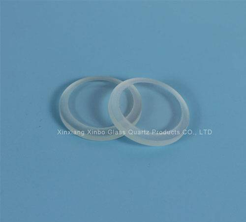 Large diameter tempered sight glass