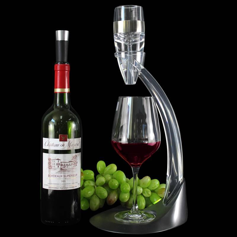 deluxe instant wine aerator