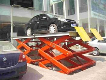 Heavy duty 2 post hydraulic scissor car lift for sale