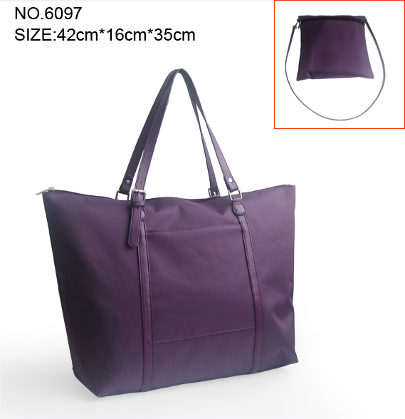 Simple Style Nylon luggage and Tote fabric Handbag