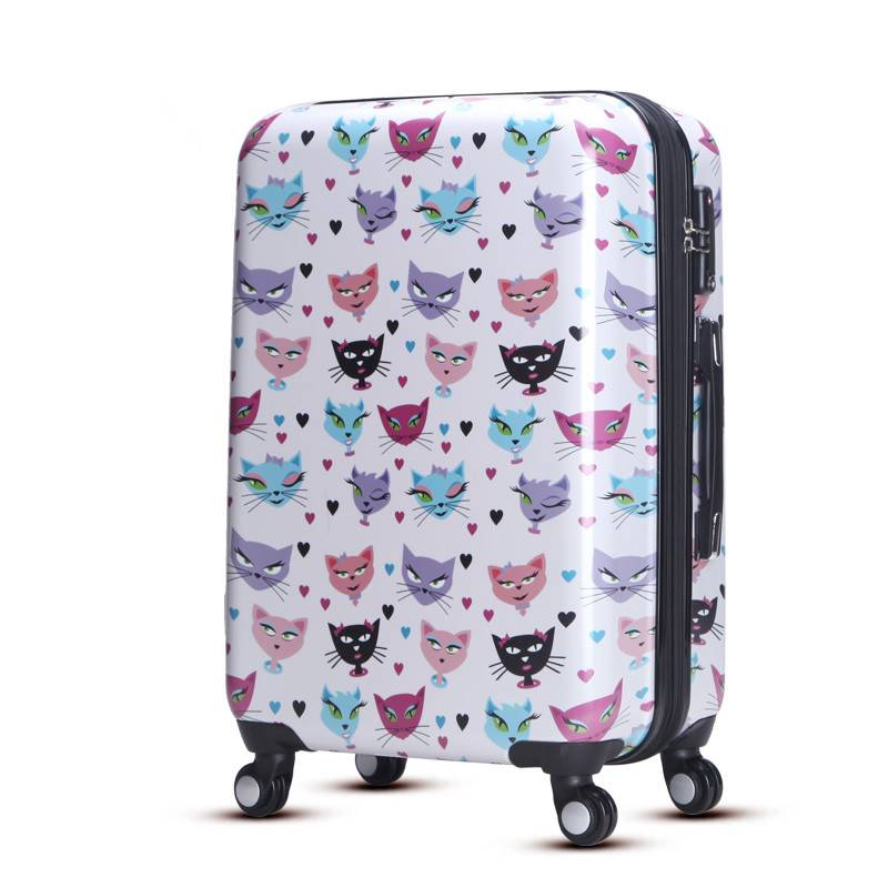 ABS PC hard shell personalized luggage for children