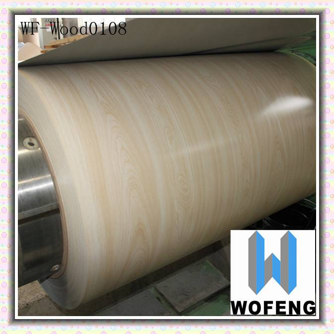 pre-painted wood grain decorative building materials ceiling