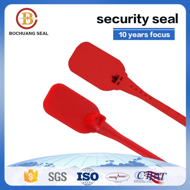 345mm disposable pull tight plastic strap seals P106