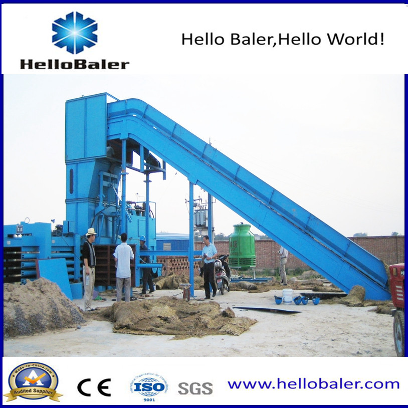 High Capacity Automatic Hay Baler From Hello Baler