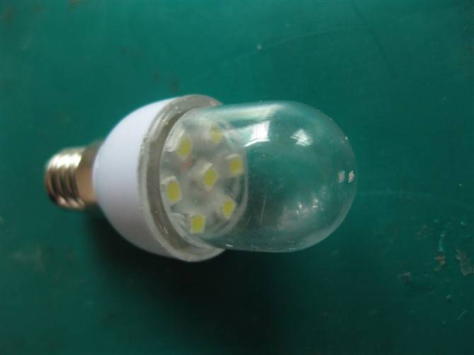 E12 LED SMD clear /frosted indication lamp