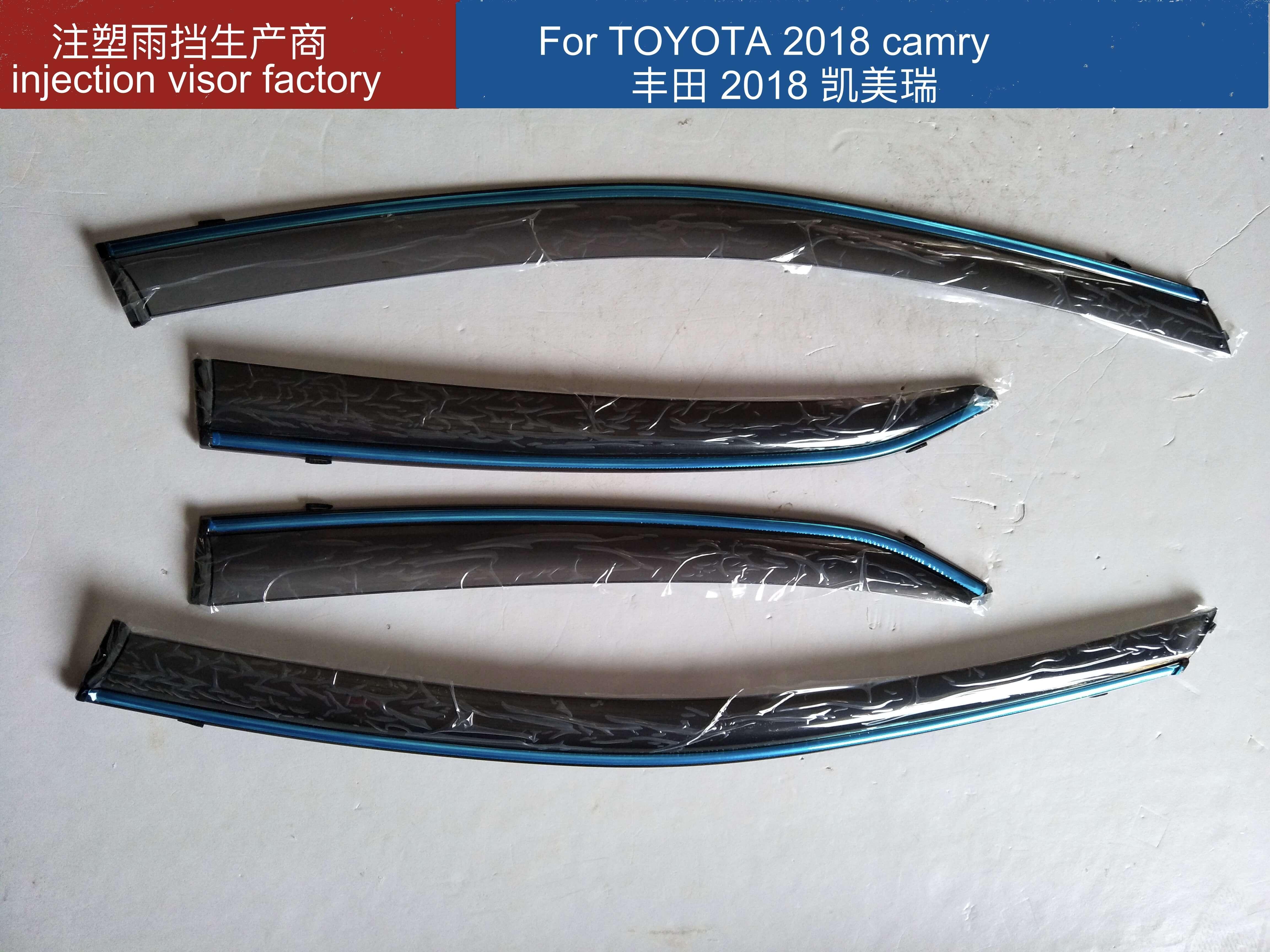 2018 toyota camry injection door visor