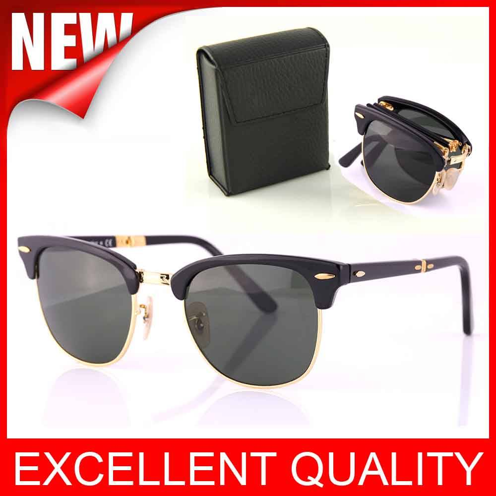 Wholesale AAAAA quality Folding CLUBMASTER 2176 Sunglasses glasses cheap price