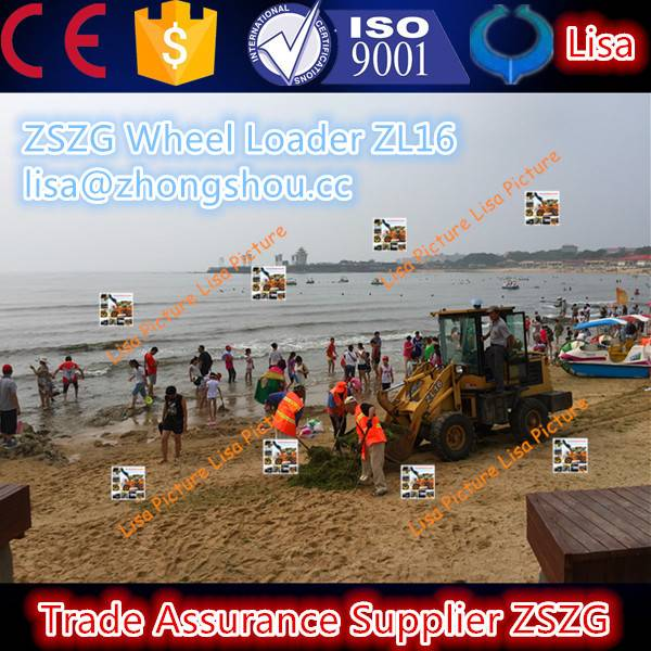 ZSZG 1.6 ton china new wheel loader 916