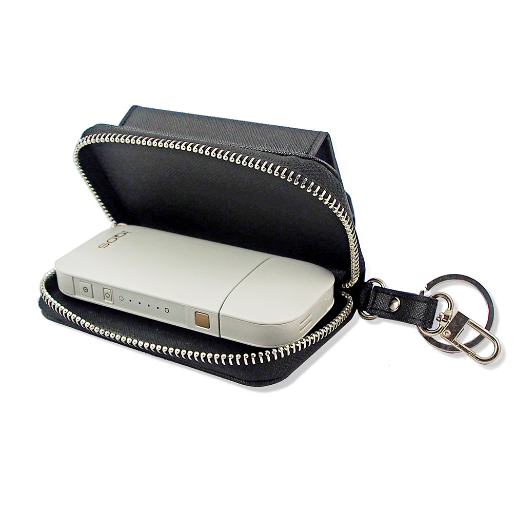 Electronic Cigarette Cover Wallet Leather Carry Case for IQOS Electronic Cigaret