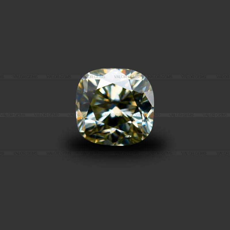G Color Cushion Moissanite