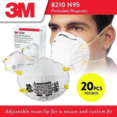 3M 8210 N95 face mask