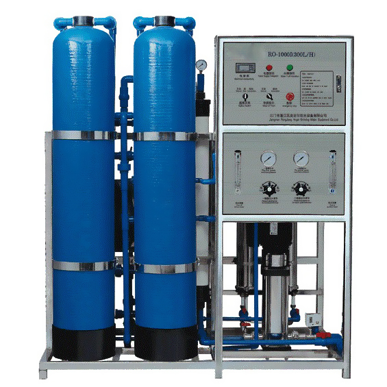 Reverse Osmosis System Drinking Water Purification Machine RO-300L/H reverse osmosis plant
