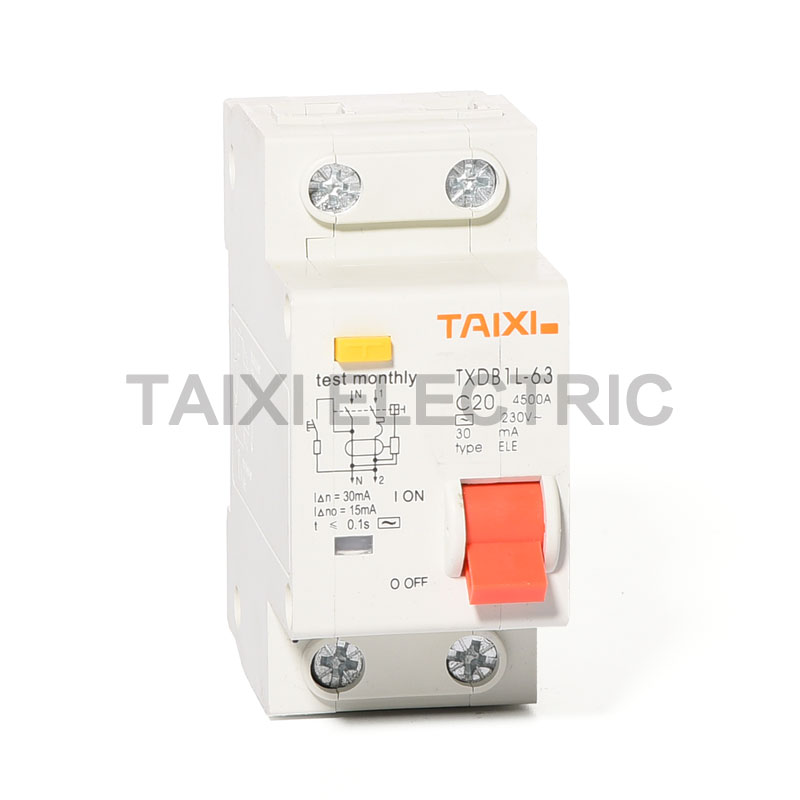 TXDB1L-63 Residual Current Circuit Breaker