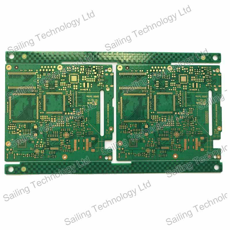 Green pcb board, 2-layer pcb, car circuit board, automotive pcb