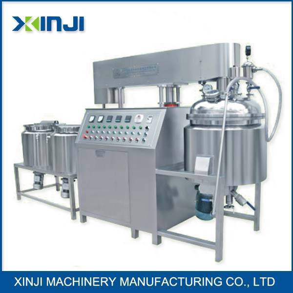 Food vacuum mixer homogenizer