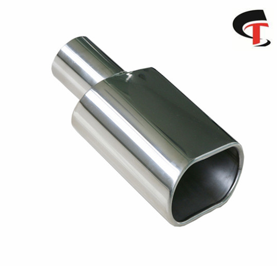 Square Polish Exhaust Tip