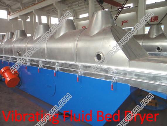 Vibrating Fluid Bed Dryer