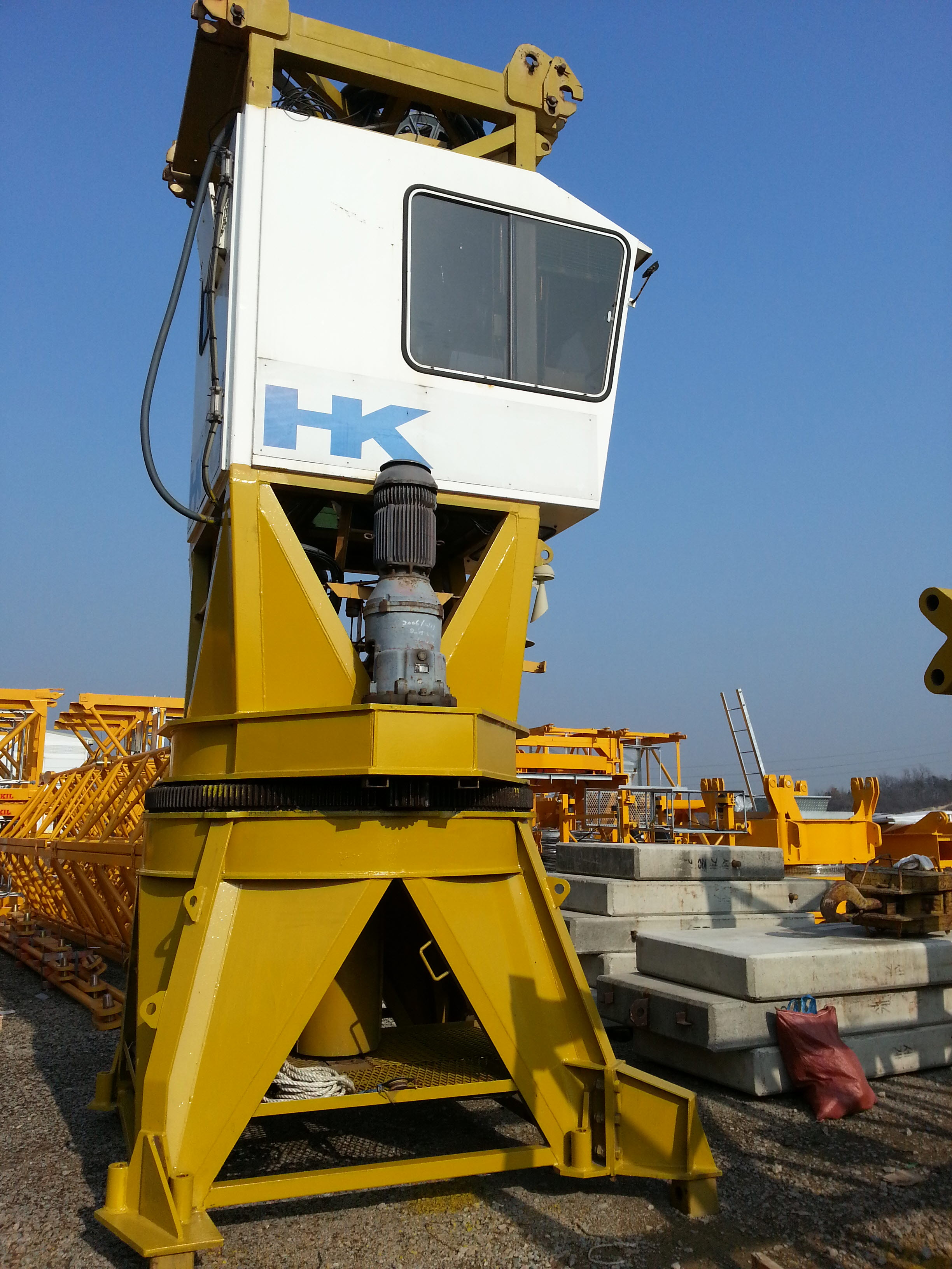 Used Tower Crane : Liebherr 290HC