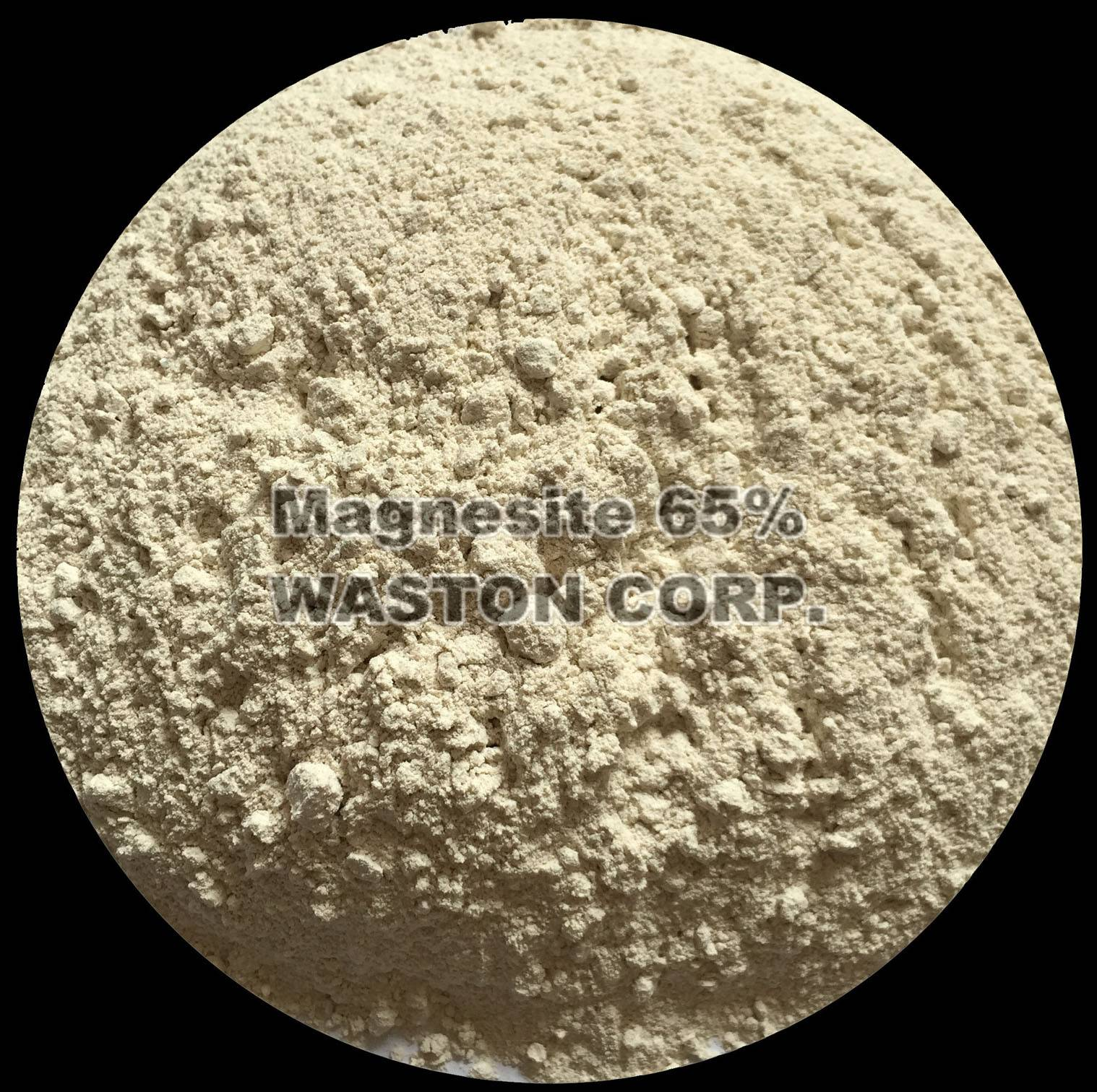 caustic calcined magnesite 65%