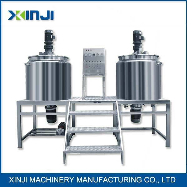 Stainless steel shampoo mixing machine