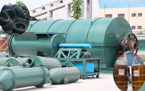 Waste tyre pyrolysis plant cost
