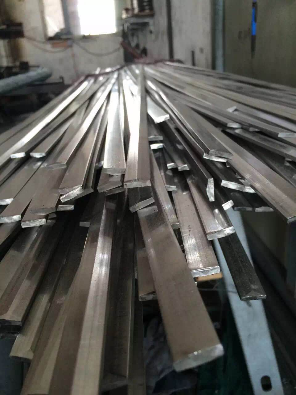 stainless shaped profile (strips, squares, rectangles, rounds, half rounds)