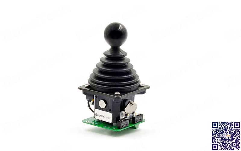 RunnTech 1 Axes Friction Hold Joystick without Neutral Zone in Center of Potentiometer