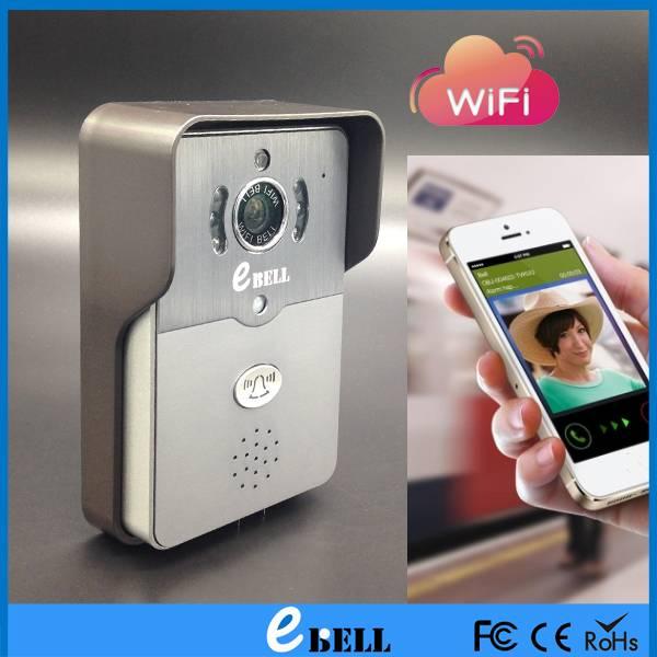 ATZ Factory Outlets IR camera doorbell housing android / IOS door bell, wireless doorbell, WIFI door