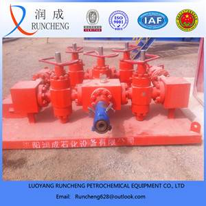 Oil or gas field use wellhead assembly api choke manifold