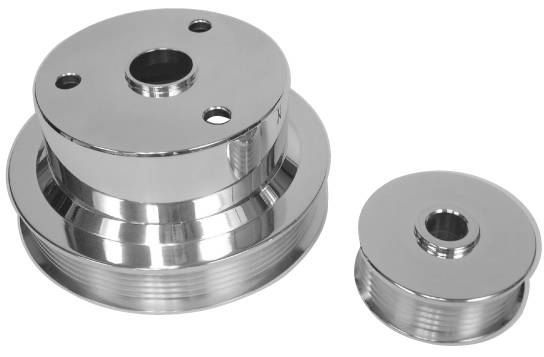 5.7L Chevy Truck, 2-Pc Pulley Set