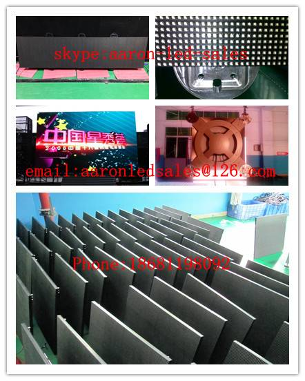 Kingsun ultra thin die-casting aluminum rental LED display