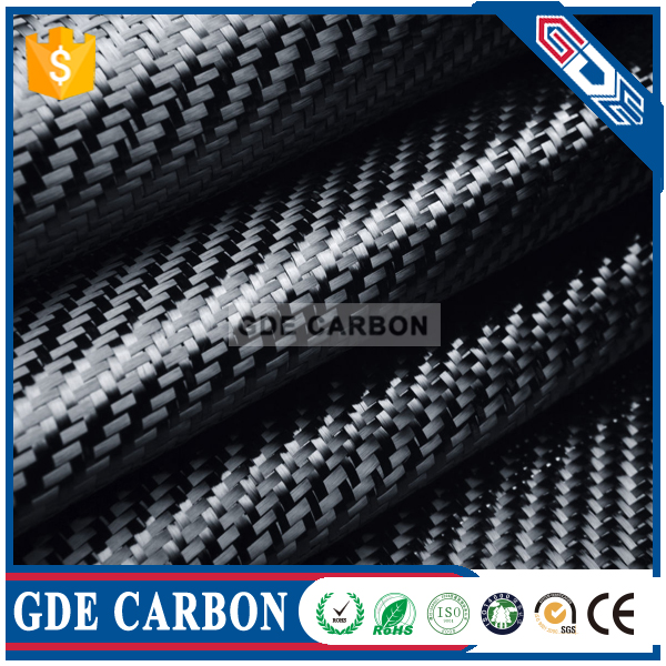 GDE 100% 3K Twill/Plain Carbon Fiber Fabric