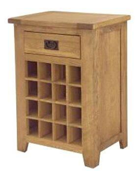 Wood Single Wine Rack/Wine Storage Cabinet