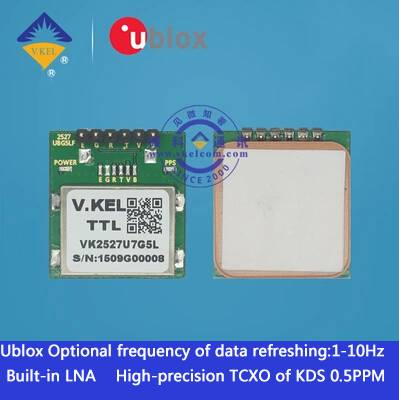 VK2527U7G5L Ublox GPS module with Antenna G-MOUSE Built-in
