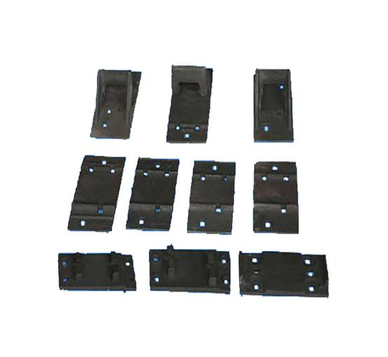 Rail Tie Plate for Railway Accessories